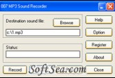 007 MP3 Sound Recorder Screenshot