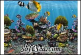 3D Fish School Screen Saver Screenshot