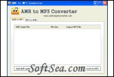 AMR to MP3 Converter Screenshot