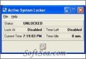 Active System Locker Screenshot