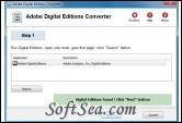 Adobe Digital Editions Converter Screenshot