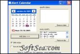 Alert Calendar Screenshot