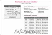 Amortization Schedule Calculator Screenshot