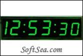 Big Green Clock Screenshot