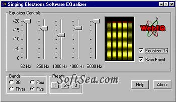 Blaze Audio WebEQ Screenshot
