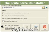 Brute Force Uninstaller Screenshot