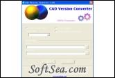 CAD Version Converter Screenshot
