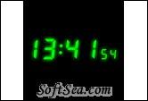 Clock Screen Saver Screenshot