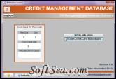 Credit Database Screenshot