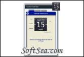 Custom Calendar Screenshot