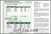 Debt Reduction Calculator Screenshot
