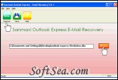 Deleted Emails Recovery Utility Screenshot