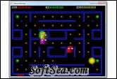 Deluxe Pacman Screenshot