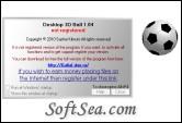 Desktop 3D Ball Screenshot