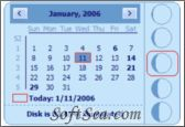 Desktop Lunar Calendar Screenshot
