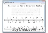 Drum-Set Writer Screenshot