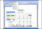 Financial Reporting Toolkit Screenshot