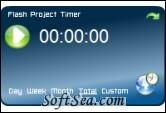 Flash Project Timer Screenshot