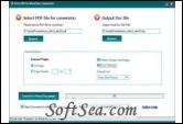 Free PDF To Word Doc Converter Screenshot