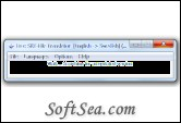 Free SRT-File Translator Screenshot