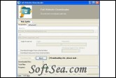 Full WebSite Downloader Screenshot