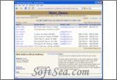 Handy Address Book Server Screenshot
