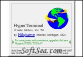 HyperTerminal Private Edition Screenshot