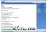 Lyrics Plugin for Windows Media Player Screenshot