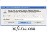 MAC Address Changer Screenshot