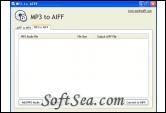 MP3 to AIFF Screenshot