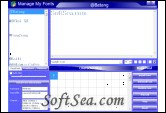 Manage My Fonts Screenshot