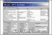 Music NFO Builder Screenshot