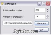 MyKeyGen Screenshot