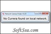 Network Camera Finder Screenshot