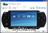 PSP Wallpaper Maker Screenshot