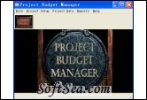 Project Budget Manager Screenshot