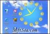 Screen Clock Screenshot