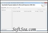 Searchable Property Updater for Microsoft Dynamics CRM Screenshot