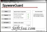 SpywareGuard Screenshot
