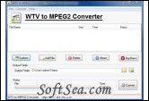 WTV to MPEG Converter Screenshot