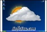 Weather Desktop Wallpaper and Screen Saver Screenshot