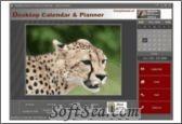 Wildlife Pictures Desktop Calendar and Planner Screenshot