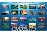 Windows 7 High Resolution Regional Wallpapers Screenshot
