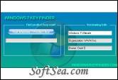 Windows 7 Key Finder Screenshot