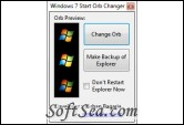 Windows 7 Start Orb Changer Screenshot
