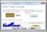 Windows 7 Taskbar Color Changer Screenshot