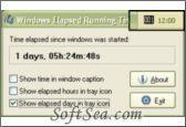 Windows Elapsed Running Time Screenshot