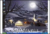 Winter Wonderland 3D Animated Wallpaper Screenshot