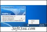 Wireless Keyboard Indicator Screenshot