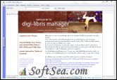 digi-libris Manager Screenshot